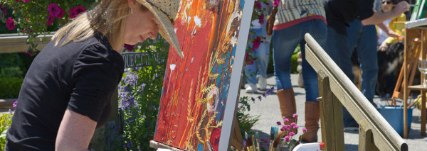 Plein Air & More June 22-24, 2012 – Will Feature  Work of More than 50 Artists