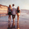 Steve Hanks Painting at Haystack Gallery