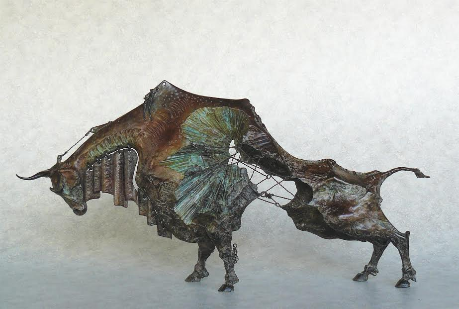 New Sculptures by David Crawford at Bronze Coast Gallery   Cannon