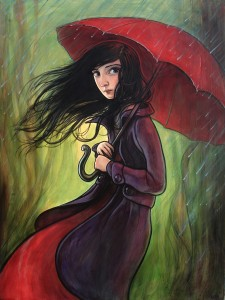 ARCH-KellyVivanco-Red Umbrella