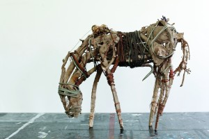 Wired Stallion Bronze Horse