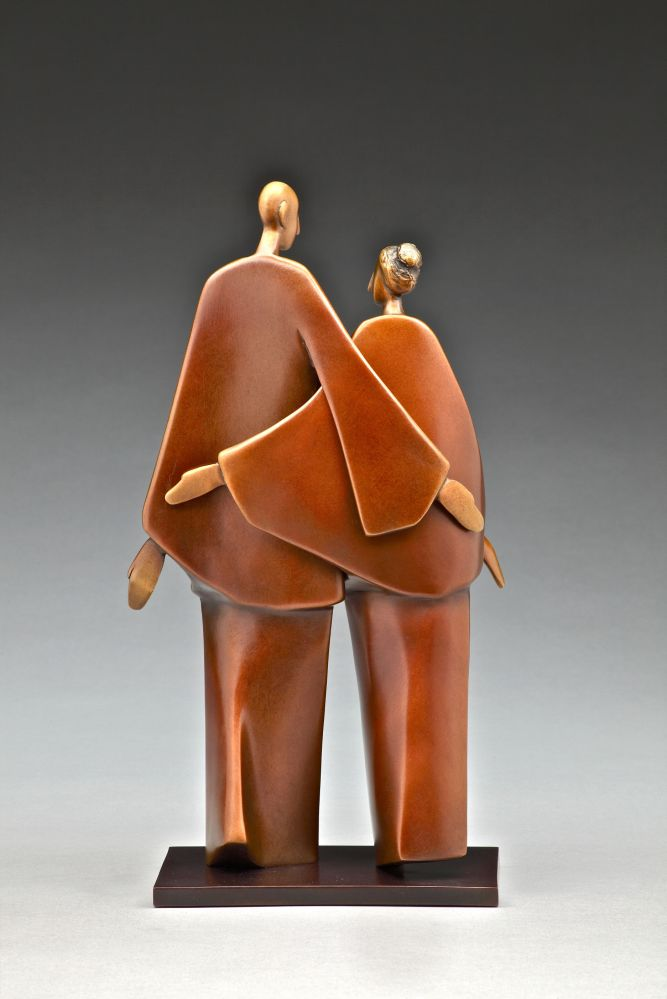 """Friendship"" by Carol Gold at Bronze Coast Gallery"