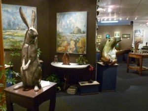 Interior of Bronze Coast Gallery