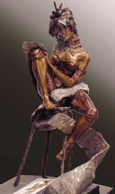 Poet 2 by Michael Tieman at Haystack Gallery