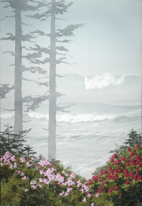 """Rhododendrons Gone Wile"" by Jeff Hull"