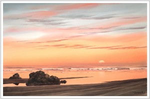 """Sunset Shore"" by Jeffrey Hull"