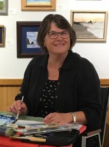 Linda-artist at work-crop