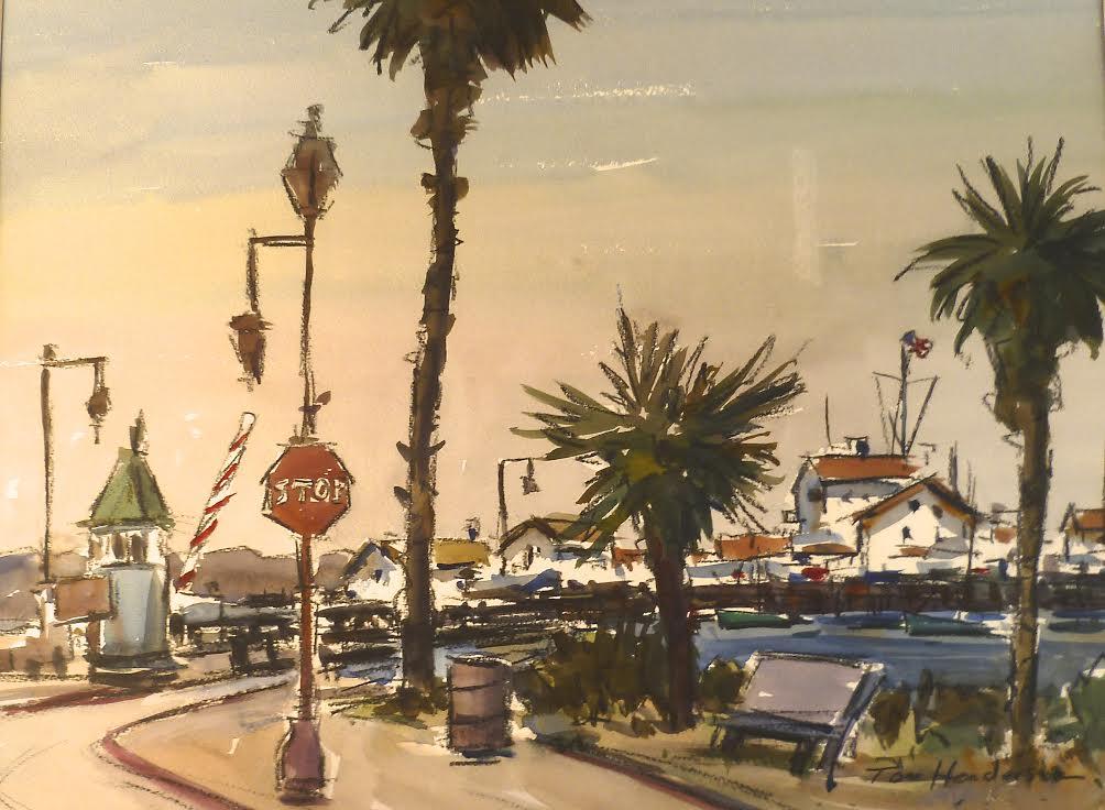 The Wharf at Santa Barbara by Tom Henderson at Modern Villa Gallery