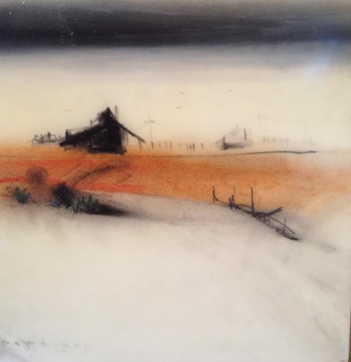 Farm at the Edge of Dunes by Tom Scheibal at Modern Villa Gallery