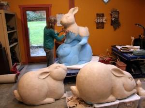 Georgia Gerber's Rabbits
