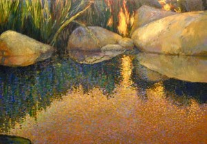 Reeds by Jeff White at Northwest by Northwest Gallery