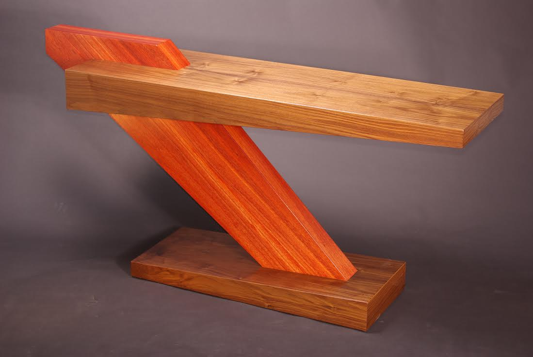 Fin Table 1 by Jeffry Mann at Primary Elements Gallery