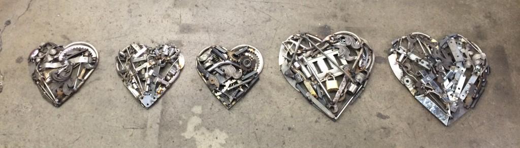 PE-hearts