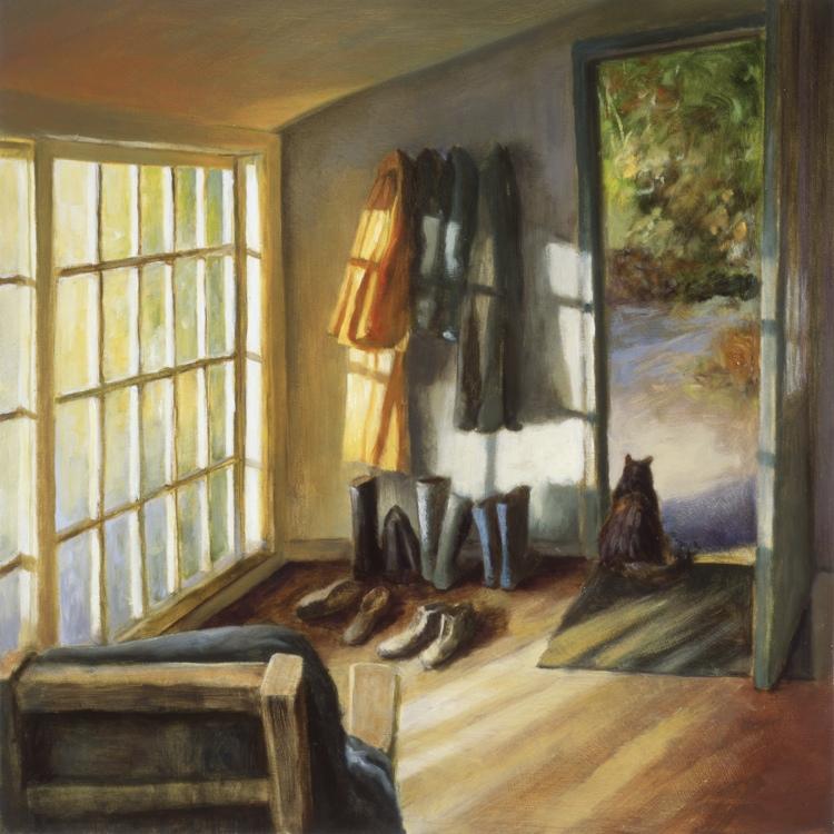 Sun Porch by Deborah DeWit at White Bird Gallery